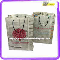Wine Gifts Paper Bags With Rope Handle