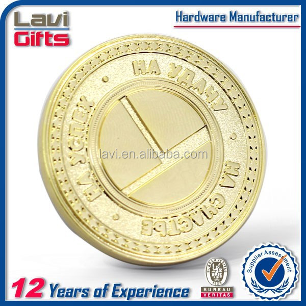 Factory direct sales gold metal cheap custom coin for sale antique
