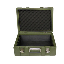 Rotational mould plastic military tool case LLDPE portable premium truck tool box for sale
