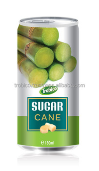 Trobico brands sugar cane Juice 180 ml with natrual fruit juice