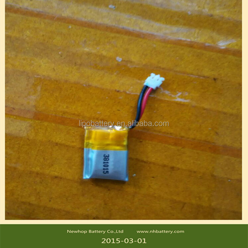 351013p 10c rechargeable lithium polymer <strong>battery</strong> 15mah 3.7v lipo