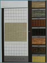 100% Polyester Zebra blinds two layer roller blinds fabric KINGO Brand