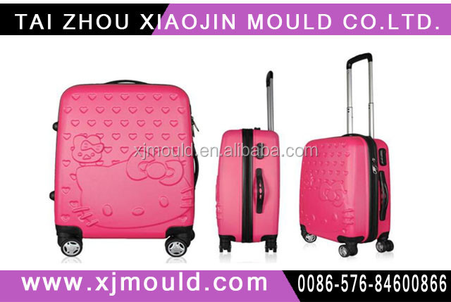 20'' travel suitcase plastic mold maker