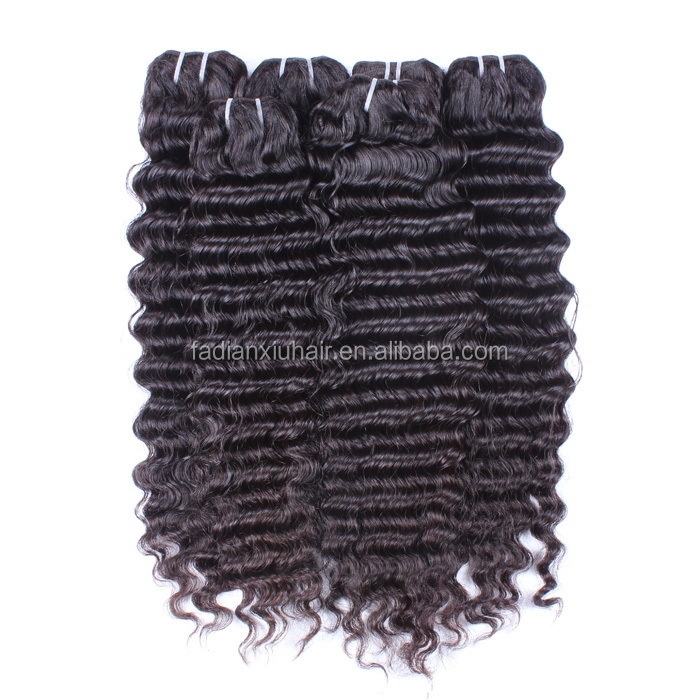 Wholesale Cheap Deep Curly Virgin Brazilian Hair to Salons <strong>N</strong> Shops