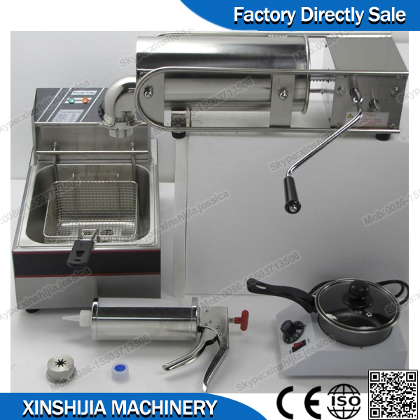 Hot sale !!!Churros machine and fryer(mob:0086-15503713506)