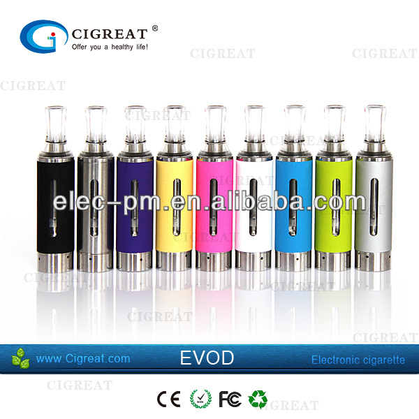 Blinking newest Smart e cigarette battery Evod Passthrough with micro usb interface