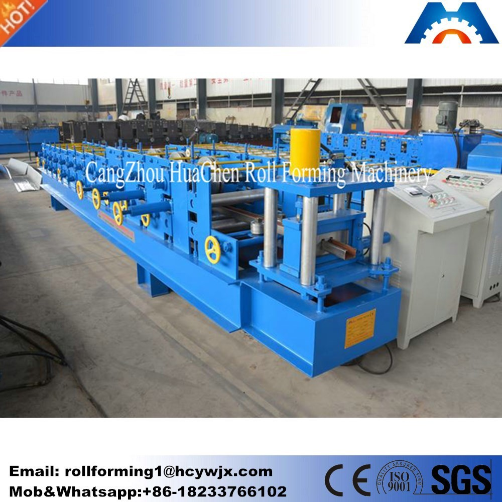 Galvanized steel roof truss c purlin roll forming machine