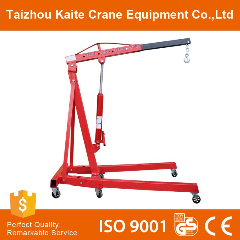 Hot Sale Construction Single Pipe Small Mobile Cranes Boat Lifting Crane