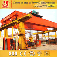 QD type end carriage&single track power trolley 350ton overhead crane