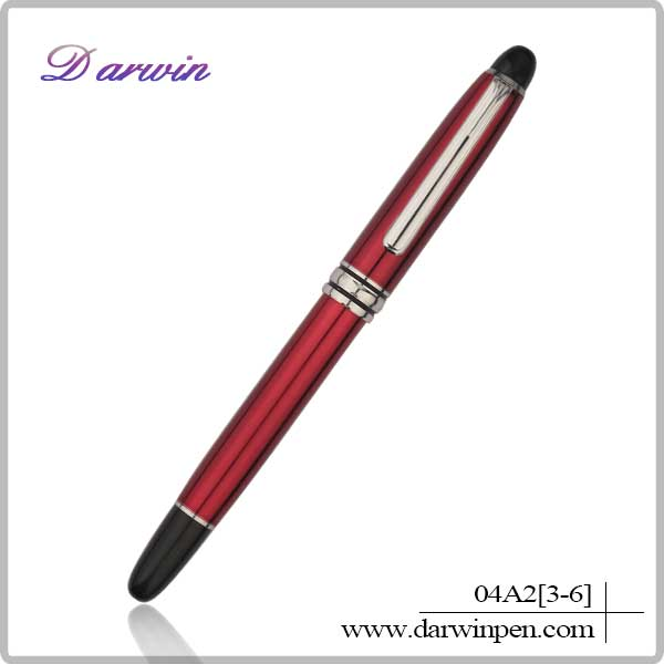 2014 multicolor OEM customized logo gift metal pens