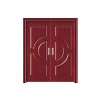 High Quality Wholesale Custom Cheap outdoor wood doors