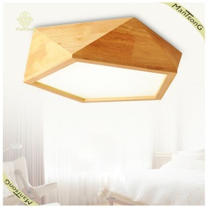 LED Lighting Home Decorative LED Ceiling Lamp Wood LED Light Base