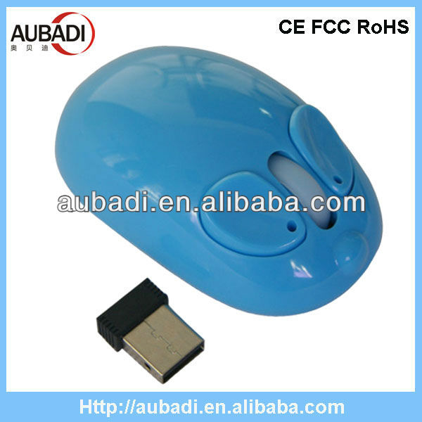 2013 Hot Promotional Computer Optical Animal Shaped Wireless Mouse