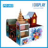 2016new products tree shape cardboard display stand playhouse display