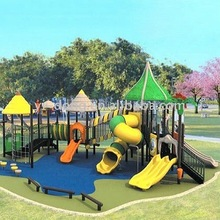 Outdoor plastic playground equipment for kids