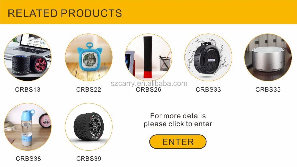 Cadeau Peronalised Mini Pneu Forme Haut-parleurs Bluetooth Portable Mobile Haut-Parleur