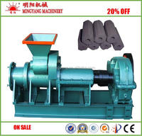 Energy saving contnuous 45r/min high yield coal rod making machine for coal powder