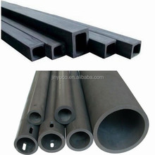 1650C Durable RBSiC Ceramic Tube Recrystallized Silicon Carbide Pipes