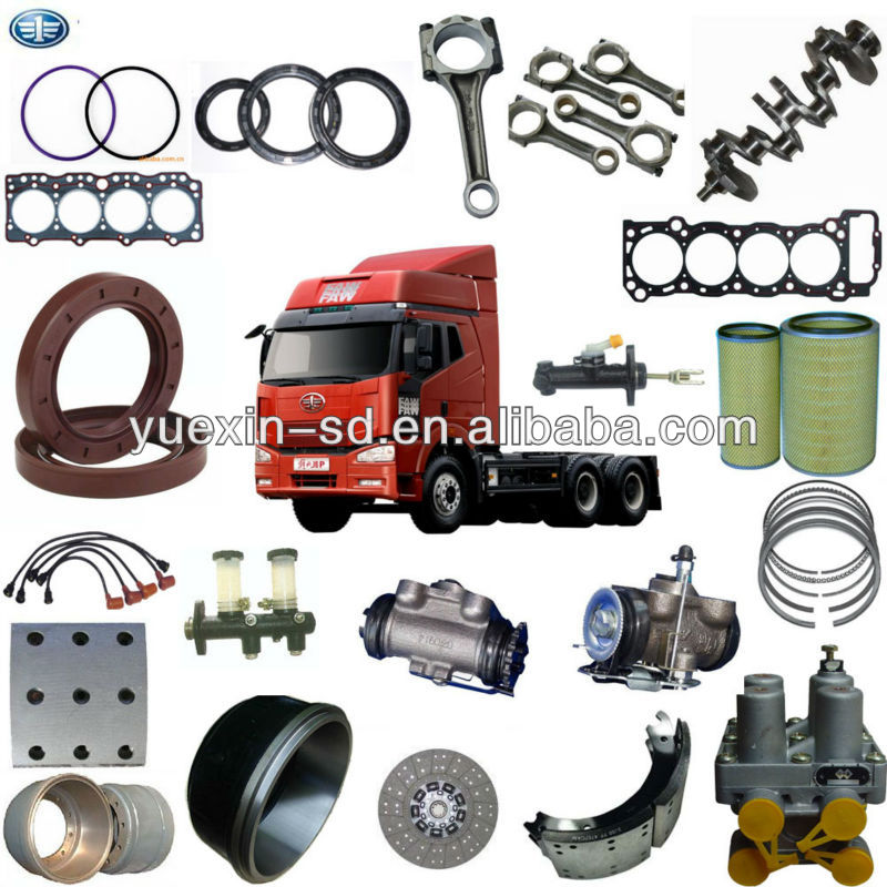 original faw truck spare parts