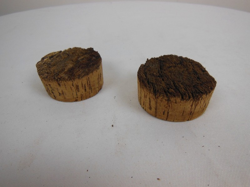Bark Top Cork Stoppers