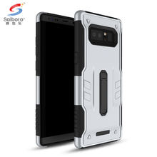 Tpu pc back cover Case mobile phone 2017 durable armor case for samsung galaxy note 8