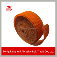 Abrasive sanding mesh screen roll with hook and loop