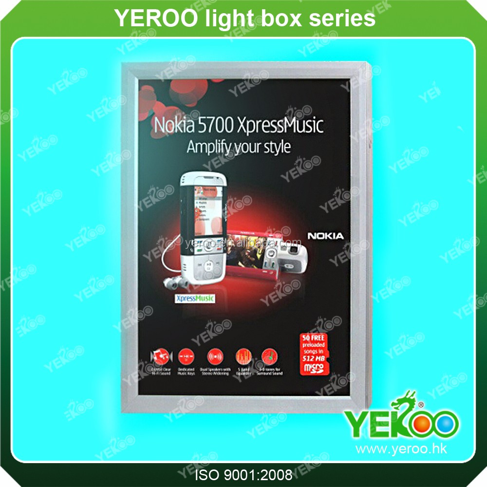 Outdoor Advertising Scrolling Lightbox Board Light Frame