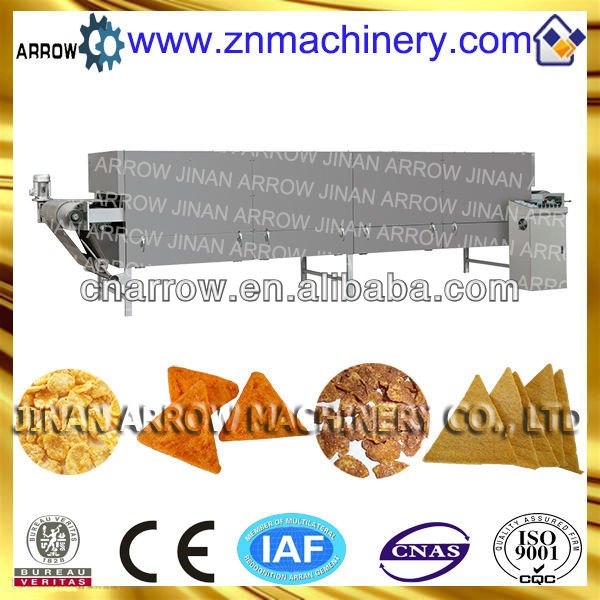 Stainless Steel Conveyer Belt Electric Doritos Chips Baking Oven