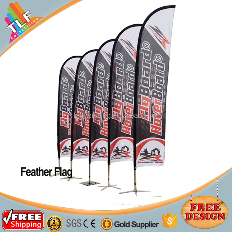 Free Shipping Feather Flag Signs Banner For Advertising
