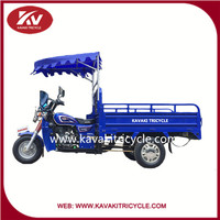 2016 Cargo tricycle 3 wheel motorcycle with 4.50-12 tricycle tires with strong rear axle and good engine for sale in Guangzhou