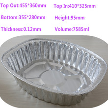 large size food foil aluminum tray