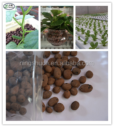 Soiless Growing Medium Red Expanded Clay Leca Pebbles for Aquaponics Bio filter
