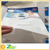 on line packing roll film for pet cleaning pads packing