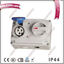 IP44/IP55 MENNEKES Type Panel Mounted Socket for Industry Application