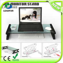 Hot sale DIY practical detachable desktop monitor stand laptop stand