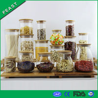 All sizes and shapes Empty Glass Jars Wholesale
