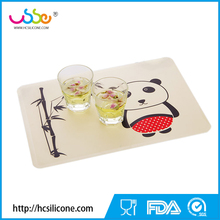 one piece baby kids silicone placemat