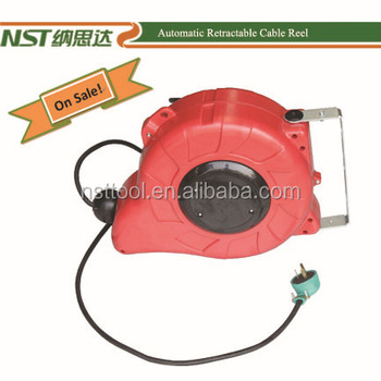 Automatic retractable cable reel Small retractable cable reel
