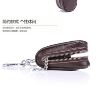 2014 new genuine leather car key case key holder key wallet