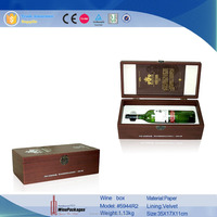 High End 1 Packed wine Bottles Packaging Cardboard Carrier/wine box
