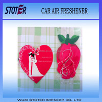 Advertising Promotional Logo Printed Paper Car Air Freshener