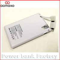 1800mah polymer power bank china manufacture For smartphone pocket powerbank credit card power bank