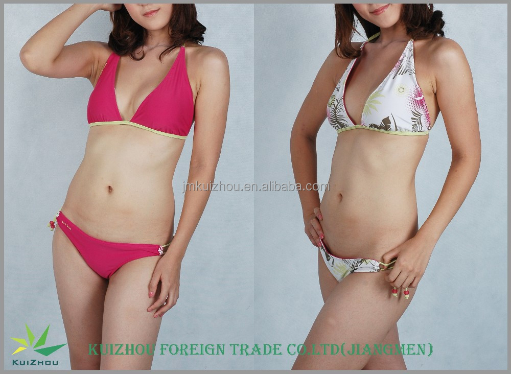 Fashion Unique Double Faced Sexy Girl Bikini
