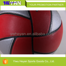 Factory Price sports equipment PU laminated basketball