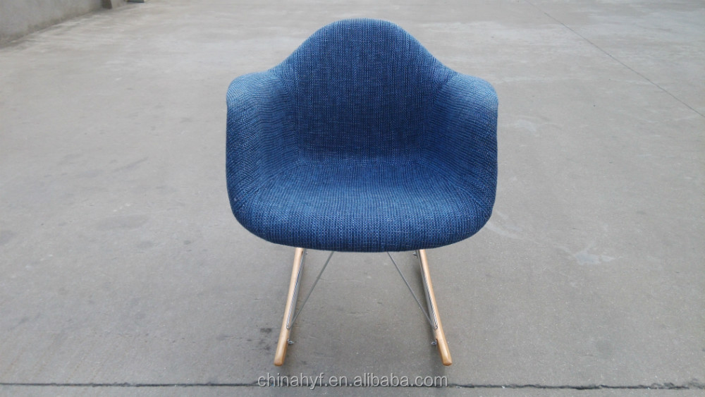 fabric full softcovered plain leisure chairs PP-125E4