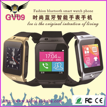 2016 Best Selling Wholesale Smart Watch GV09 Smart Watch Phone Smart Watch Mobile Phone With High Quality