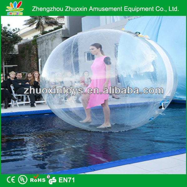 2014 health sport entertainment equipment water walkers zorb balls