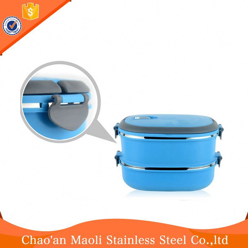 China New Product Square Plastic Take Away Bento Lunch Box