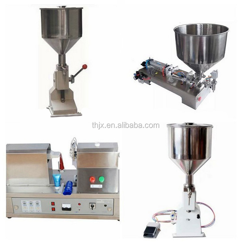 semi automatic can paste filling machine