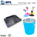 Silicone printing ink is appropriate for pat printing